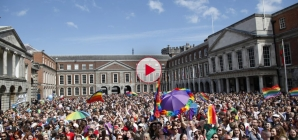Ireland first country in the world to allow same sex marriage