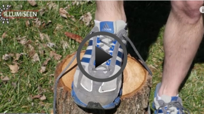 This awesome tip will help prevent heel blisters when running.