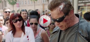 Arnold Schwarzenegger Pranks fans at Madame Tussauds.