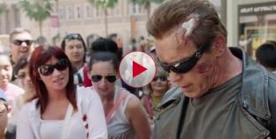 Arnold Schwarzenegger Pranks fans at Madame Tussauds.