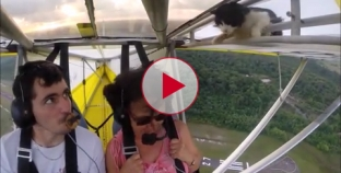 Check out this Pilot's reaction when he realizes he has a stowaway on board.
