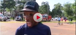 Viral News Interview from green haired car crash eyewitness Very Funny.