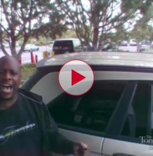 Check out this awesome couples Karaoke performance at a gas station.