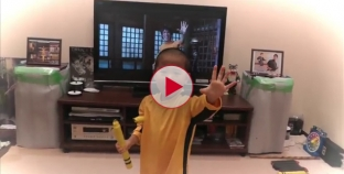 OMG! This 5 Year old is going to be the next Bruce Lee. Must Watch!