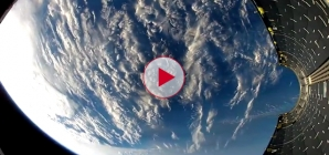 Incredible HD footage from space, falling back to Earth.