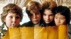 The cast of the Goonies 30 years on. Pictured then and now.
