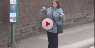 Woman dancing at bus stop caught on camera is totally hilarious.