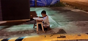 The power of one photo and a special story leads to a scholarship for young boy.