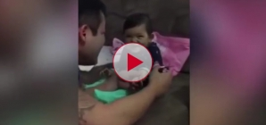 Tiny Baby Learns How To Prank Her Own Dad and it's Hilariously Funny and Cute!
