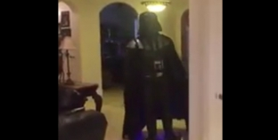 Darth Vader on Segway Epic fail is absolutely hilarious. LOL