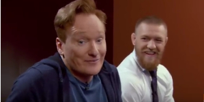 Conan o'Brien VS Conor McGregor Clueless Gamer: UFC2 LOL