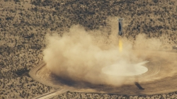 Space Tourism is getting closer as new rocket makes third successful landing.