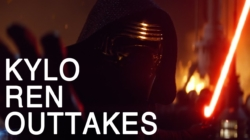 Watch these Hilarious KYLO REN Outtakes extremely funny! LOL