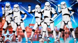 Dancing Stormtroopers get Gold Button to final on Britain's Got Talent! Awesome