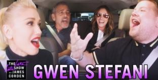 The best Carpool Karaoke Yet! Gwen Stefani, George Clooney & Julia Roberts. Awesome!