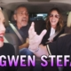 The best Carpool Karaoke Yet! Gwen Stefani, George Clooney & Julia Roberts. Awesome!
